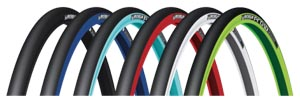 Michelin tires in many colors