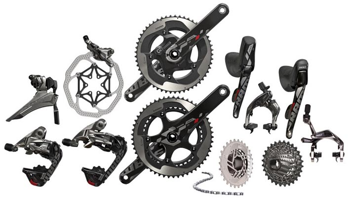 SRAM RED Groupset 2015