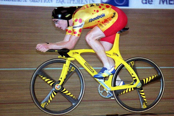 Chris Boardman captured the Hour Record of cycling in 1993