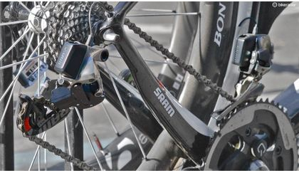 To tap or not to tap? SRAM'S electronic wireless shifters