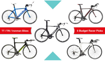 Read '5 of the best TT, Triathlon or Ironman bikes for racers on a budget'