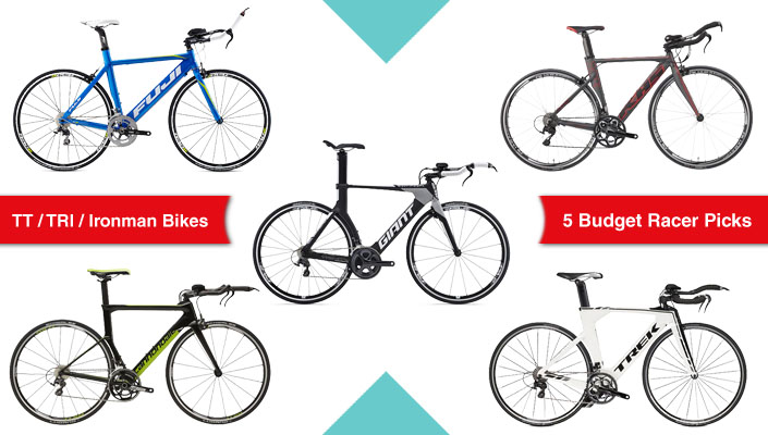 5 of the best TT, Triathlon or Ironman bikes for racers on a budget