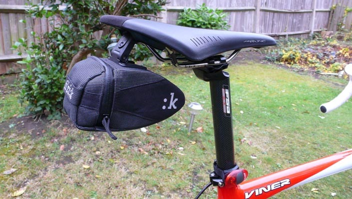 Should Road Cyclists Use Saddle Bags