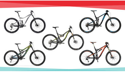 Looking for an Enduro weapon? These 5 bikes can descend (and climb) with the flick of a lever