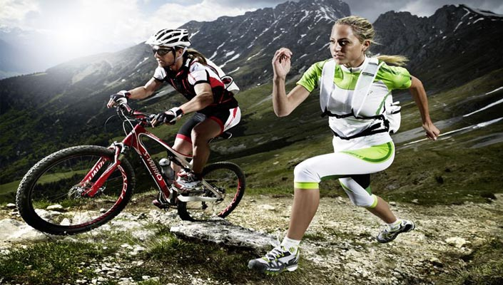 Image result for running and cycling