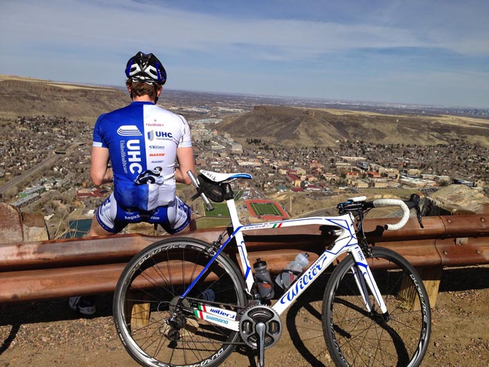 ultra riding - UHC rider putting in lonely time and miles