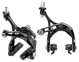 Dual-pivot caliper brakes by Campagnolo