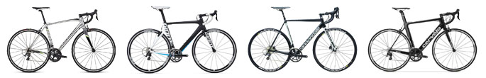 Compare 6 best bet 2016 road bikes $2-3.5K from Specialized, Giant, Cannondale, Cervelo