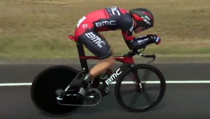 Rohan Dennis on his way to gold at Australia Road National Championships TT