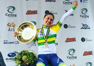 Katrin Garfoot wins Australia Road National Championships Women's TT
