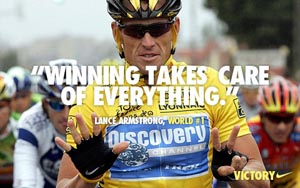 Lance Armstrong: The man, the brand... the martyr?