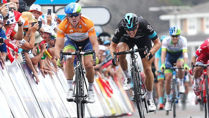 Gerrans takes 2nd win in a row - Stage 4 of the 2016 Santos Tour Down Under
