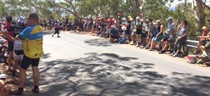 250,000 fans lined the course for TDU stage 5