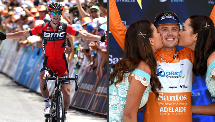Richie Porte wins and Gerrans secures lead - Stage 5 of the 2016 Santos Tour Down Under