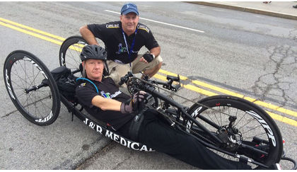 Alternate Perspectives: James DuBoses' autoshift handcycle