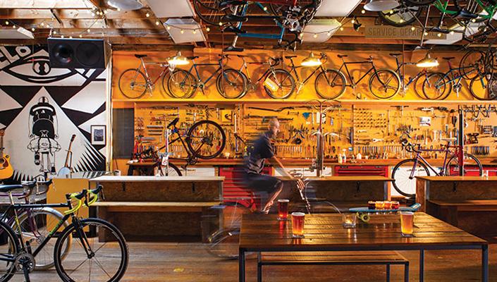 Velo Cult bike shop in Portland