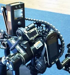 The autoshifting tech of James DuBose's recumbent handcycle