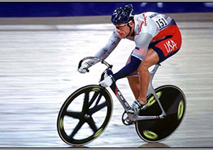 Marty Nothstein at the Sydney Olympics in 2000