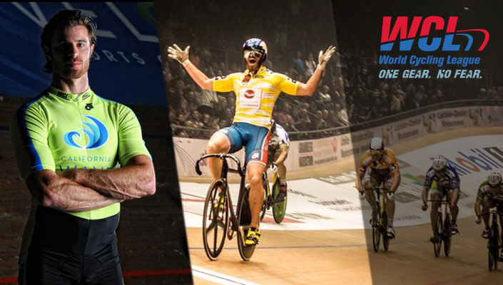 Nate Koch is ready to bring track cycling to the masses with WCL