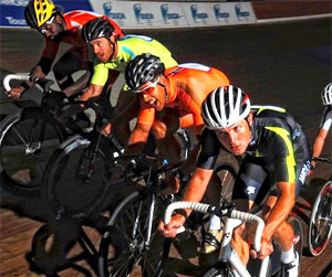 Battling on the boards of World Cycling League