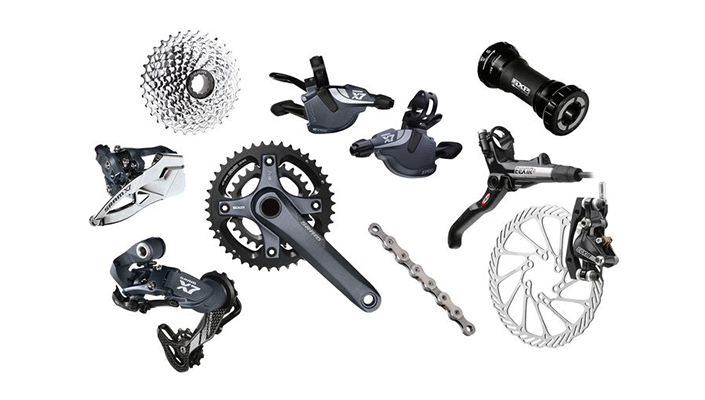 SRAM X7 mountain bike group