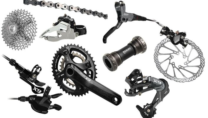 SRAM X9 mountain bike group