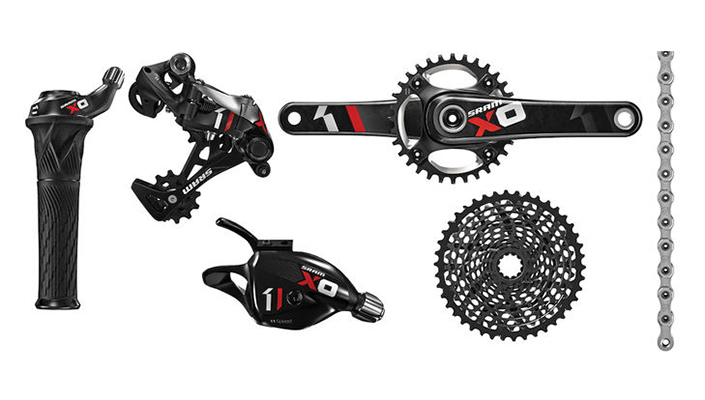 SRAM X01 mountain bike group