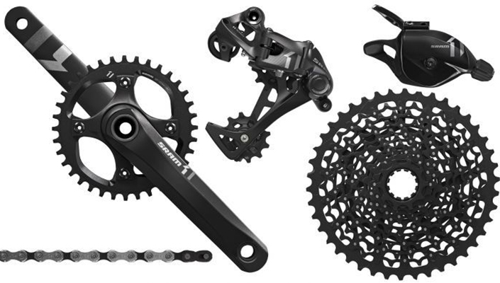 SRAM X1 mountain bike group