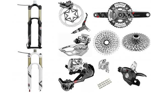 SRAM XX mountain bike group