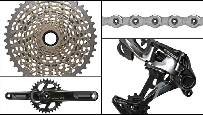 SRAM XX1 mountain bike group