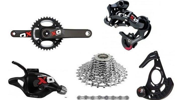 SRAM X0 mountain bike group