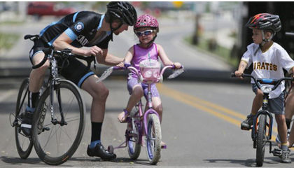 Succeed in cycling goals when you have kids
