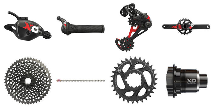 SRAM X01 Eagle mountain bike group