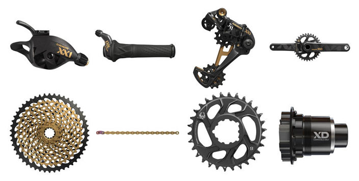 SRAM XX1 Eagle mountain bike group