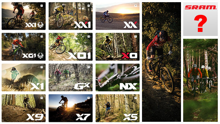SRAM 2016 currently has 12 dedicated 3x, 2x, and 1x mountain bike drivetrains. Which one is right for you?