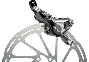 SRAM RED disc brakes for road