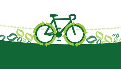 Keeping it Green on Two Wheels