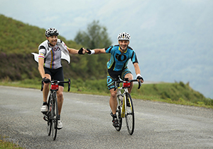 Team work along the Haute Route is key