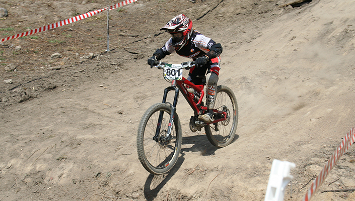 Troy Brosnan DH Race Kid 2007