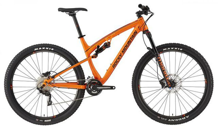 Rocky Mountain Instinct 930 2016 xc full suspension bike