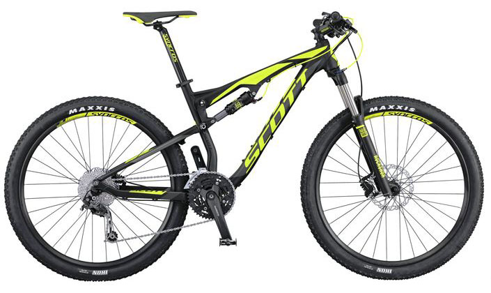 Scott Spark 960 2016 full suspension xc bike