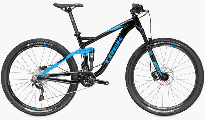 Trek Fuel EX 7 full suspension xc bike