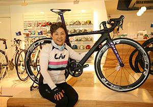 Liv bicycles founder Bonnie Tu