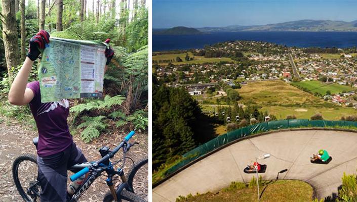 Crankworx Rotorua manky and Skyline Luge