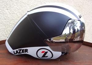 Lazer Wasp Air IS Aero helmet in white / black