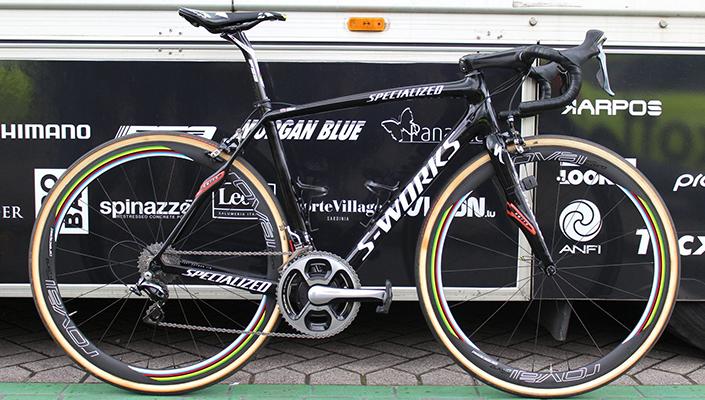 Peter Sagan's Custom Specialized S-Works Roubaix