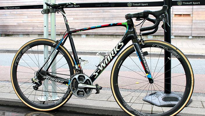 Peter Sagan's custom Specialized S-Works Tarmac