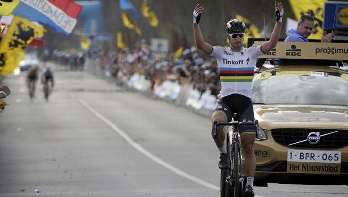 Peter Sagan off Tinkoff for 2017