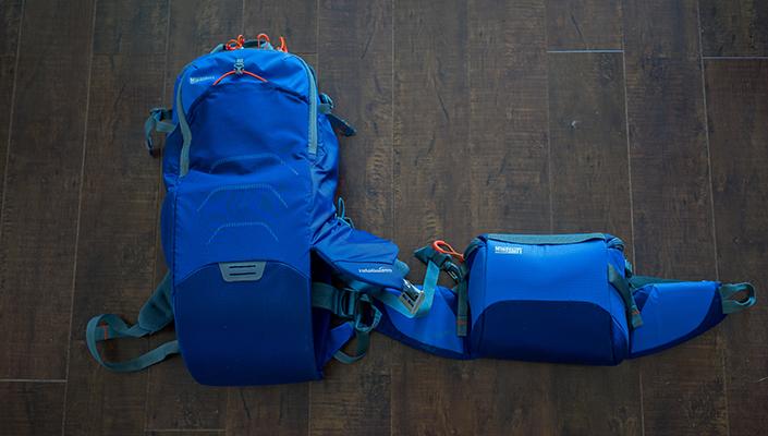 MindShift Rotation 180 Trail 16L Backpack Deployed