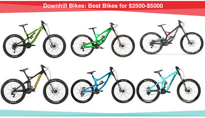 Downhill MTB: Best bikes for $2500-$5000